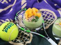 酪梨優格(網球造型&酪梨切法)
