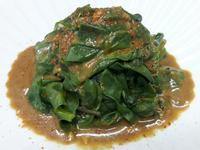 芝麻溫拌皇宮菜 落葵~低油料理