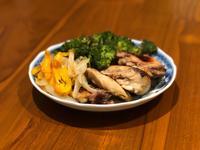 [低卡無油料理]蜂蜜檸檬烤雞