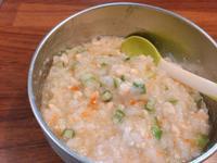 寶寶副食品-秋葵雞肉粥