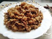 香菇肉絲油飯