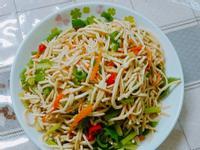 總匯蔬菜炒粉絲