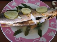 清蒸檸檬鮮魚