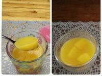 夏日柳橙芒果凍