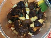 炒香菇拌茭白筍