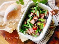 蕃茄羅勒烤鹹豬肉