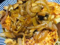 低油~雞胸蔬菜豆腐漢堡排