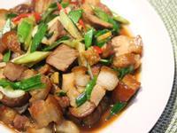 蒜苗炒滷肉