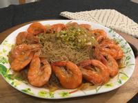 [生酮低醣餐]蒟蒻粉絲鮮蝦煲