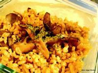【大同電鍋料理】舞菇蘆筍燉飯
