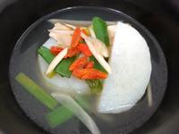 來碗偽魚湯吧(五辛素)