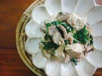 塔香豆腐炒豬肉一超簡單