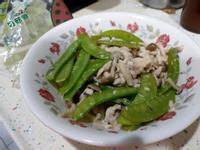 碗豆菇菇炒肉絲【好菇道親子食光】