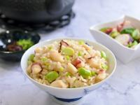 章魚毛豆炊飯