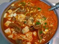 簡易版韓式豆腐鍋