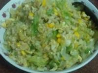 結球玉米蛋炒飯