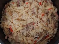 茭白筍菇菇炊飯