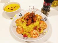 簡單健康的南瓜濃湯兩吃/蝦蝦勾搭南瓜燉飯