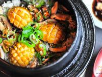 韓式鮑魚蓋飯