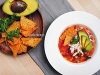 墨西哥蕃茄雞肉蔬菜湯