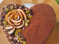 【免烤箱】蘋果茄子優格冰淇淋蛋糕 6吋