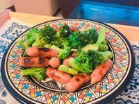花椰菜小香腸