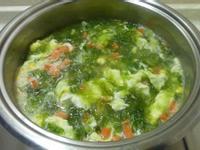 (解凍)鮭魚海菜濃湯**15分鐘輕鬆上湯**