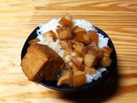 滷肉飯(南部稱肉燥飯)