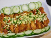 泰式酸辣小黃瓜蝦捲
