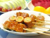 烤肉-青蒜大腸