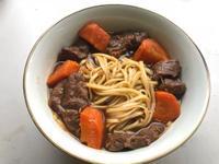 萬用鍋 超簡單 美味紅燒牛肉麵