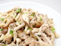 低脂料理《雙菇雞絲》