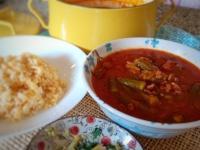 蕃茄牛肉燉秋葵-中東家常菜