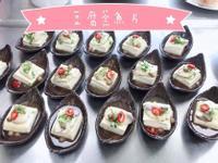 豆腐蒸煮魚片