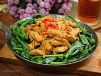 蠔油芥蘭雞肉