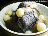 ㄚ曼達的廚房~蓮子烏骨雞湯