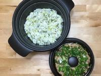 上海菜飯+蒸瓜仔肉