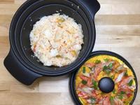 蟹黃豆腐煲+一粒蕃茄飯