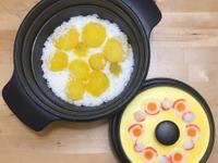金黃地瓜飯+嫩蒸蛋