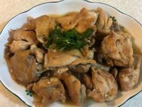 薑燒雞腿肉