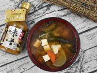 以菇王味噌醬料創造日式味噌湯感受健康生活
