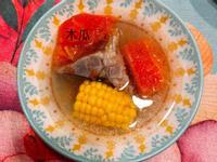 木瓜排骨玉米🌽湯