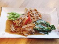 芥蘭蠔油牛肉