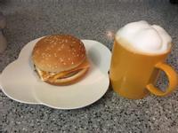早餐愛吃漢堡包