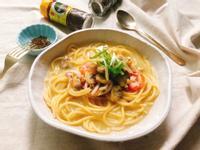 南瓜濃湯海鮮義大利麵
