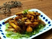 三步驟京醬肉絲 ~ 蔬食版/杏鮑菇/素)