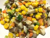 👨🏻🍳香菇炒玉米-快速簡易便當菜