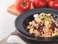 整顆番茄鮮蔬炊飯【電子鍋料理】【零廚藝】