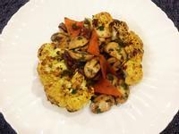 花椰菜蔬食排餐