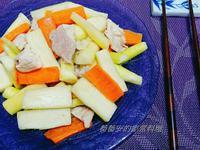 家常菜~茭白筍炒肉片